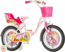 KPC Princess 16 királylányos gyerek kerékpár HAJMERESZTŐ ÁRON