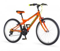 Venssini Parma 24 gyerek kerékpár Narancs