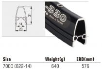 Felni-TW-700C-36H-FEKETE-CNC