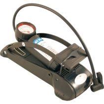 Láb pumpa univerzális nyomásmérővel