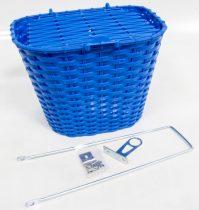 Első kosár műanyag fedeles 36x29x25 kék