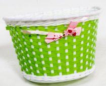 Első gyermek kosár műanyag 22X15X15 mm - Masnis zöld