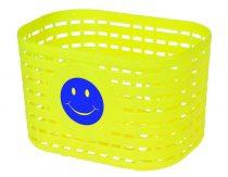 Gyermek műanyag kosár sárga