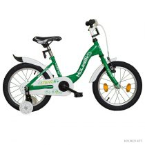 "Koliken Traki 16"" kisfiú bicikli - Zöld színű"