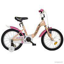 """Koliken Little Lady 16"""" kislány bicikli - Krém színben"""