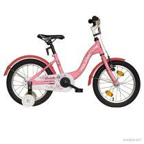 """Koliken Barbilla 16"""" kislány bicikli - Rózsaszín"""