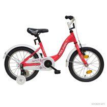 """Koliken Eper 16"""" kislány bicikli - Eper színben"""