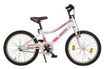 """Koliken Biketek Smile - 20"""" kerékpár - fehér-pink"""