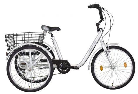 """Koliken Gommer Camping kerékpár - 24"""" - háromkerekű camping kerékpár - 6 sebességes kivitel"""