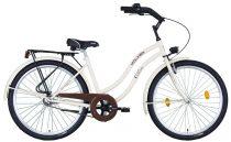 """Koliken Cruiser 26"""" Női Kontrás Kerékpár - Latte színben - 1 sebességes"""
