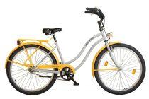 """Koliken Cruiser 26"""" Női Colour Kontrás Kerékpár - Szürke/Narancs"""