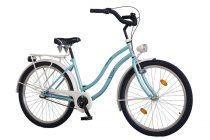 """Koliken Cruiser 26"""" Cosmo női kerékpár - Világoskék színben - 3 sebességes"""