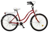 """Koliken Cruiser 26"""" Cosmo női kerékpár - Bordó színben - 3 sebességes"""
