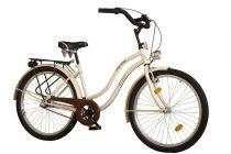 """Koliken Cruiser 26"""" Női Kontrás Kerékpár Agyváltós - Latte krém - 3 sebességes"""