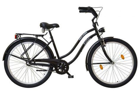 Koliken Cruiser Női Kontrás Kerékpár Agyváltós - Fekete színben - 3 sebességes