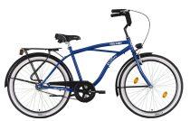Koliken Cruiser Férfi Kontrás Kerékpár - Kék színben - 1 sebességes