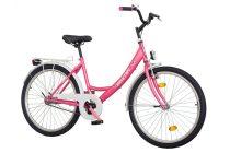"""Koliken Jázmin Női Kontrás Kerékpár 26"""" - Pink színben - 1 sebességes"""