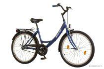 """Koliken Jázmin Női Kontrás Kerékpár 26"""" - Kék színben - 1 sebességes"""
