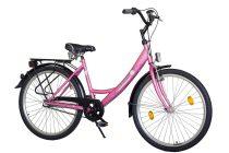 """Koliken Jázmin N3 Női Kontrás agyváltós kerékpár 26"""" - Pink színben - 3 sebességes"""