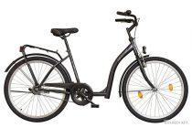Időseknek - Koliken Hunyadi Biketek kontrás kerékpár (alacsony átlépésű) - Grafit