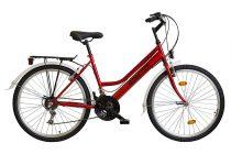Koliken Biketek Oryx ATB női kerékpár - Bordó színben - 18 sebességes