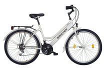 Koliken Biketek Oryx ATB női kerékpár - Fehér színben - 18 sebességes