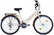 """Koliken Biketek Oryx ATB  26"""" női MTB Kerékpár - Krém színű - 18 sebességes"""