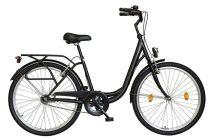 """Koliken Ocean 26"""" kontrás női kerékpár - Fekete színben - 1 sebességes"""