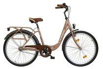 """Koliken Ocean 26"""" kontrás női kerékpár - Barna színben - 1 sebességes"""