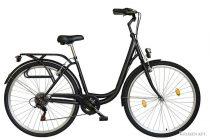 """Koliken Ocean 26"""" váltós női kerékpár - Fekete színben - 6 sebességes"""