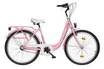 """Koliken Ocean 26"""" agyváltós női kerékpár - Rózsaszín színben - 3 sebességes"""