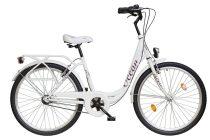 """Koliken Ocean 26"""" agyváltós női kerékpár - Fehér színben - 3 sebességes"""