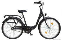 """Koliken Ocean 26"""" agyváltós női kerékpár - Fekete színben - 3 sebességes"""