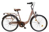 """Koliken Ocean 26"""" agyváltós női kerékpár - Barna színben - 3 sebességes"""