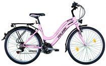 """Koliken Cherry női MTB kerékpár 26"""" felszerelt - Rózsaszín - 18 sebességes"""