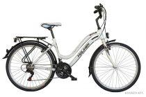 """Koliken Cherry női MTB kerékpár 26"""" felszerelt - Fehér - 18 sebességes"""