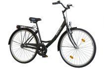 """Koliken Jázmin 1 sebességes kontrás Női városi kerékpár 28"""" - fekete"""