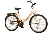 """Koliken Jázmin Biketek Női Kontrás Kerékpár 28"""" - Krém színben - 1 sebességes"""