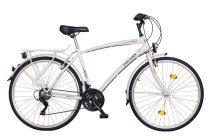 Koliken Gisu trekking férfi kerékpár - Fehér színben - 18 sebességes