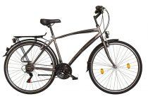 Koliken Gisu trekking férfi kerékpár - Grafit színben - 18 sebességes