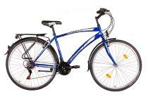 Koliken Gisu trekking férfi kerékpár - Kék színben - 18 sebességes
