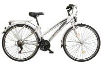 """Koliken Gisu trekking női kerékpár 28"""" - Fehér - 18 sebességes"""