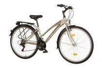 Koliken Gisu trekking női kerékpár - Pezsgő - 18 sebességes
