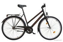 Koliken Intense női városi kerékpár - Fekete