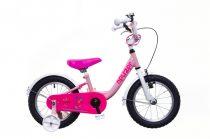 Neuzer BMX  Gyermek Kerékpár 14 coll - Lány - pink/fehér-pink