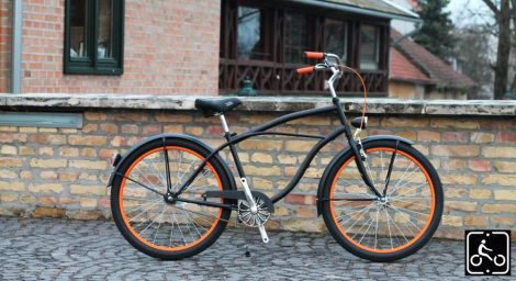 Cruiser-Kerekpar-Ferfi-Stray-Cat-1sp-Fkt-Narancs