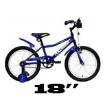 "18"" - Gyerek Bicikli - (115-125cm)"