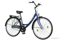 """Koliken Jázmin 1 sebességes kontrás Női városi kerékpár 28"""" - Kék"""
