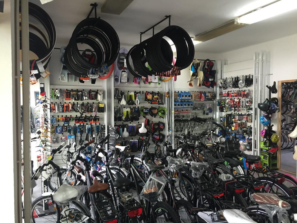 Kerékpár üzlet