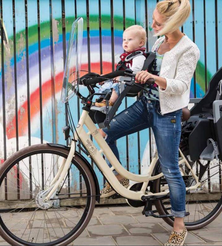 Első biciklis gyerekülés